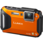Panasonic - Digitalkameras - Lumix DMC-FT 5 orange im Angebot