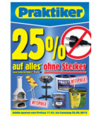 Praktiker-Prospekt &quot;Baumarkt Angebote vom 17.05.2013 bis 25.05.2013&quot;