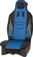 """DIANA Sitzauflage """"Fire"""" aus Polyester, blau/schwarz, 1 Stück"""