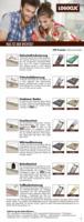 Dämmunterlagen für Laminat und Parkett