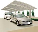 Ximax Carport »Portoforte 110 Tandem« Edelstahl-Look