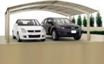 Ximax Carport »Portoforte 110 M-Ausführung« Edelstahl-Look