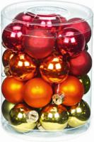 Weihnachtskugeln »Fairytale Forest-Mix« 45mm, aus Glas