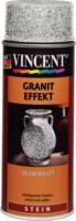 Vincent Granit Effekt seidenmatt hellgrau 400 ml