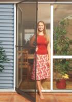 Schellenberg Insektenschutz-Tür 100x210 cm braun