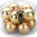 Weihnachtskugeln »Gold« 60mm, aus Glas