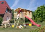 Karibu Stelzenhaus »Märchenburg« im Set mit Leiter und Rutsche