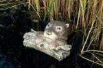 Ubbink Otter liegend auf Ast 1
