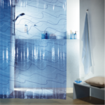 Duschvorhang Pool Vinyl Blue 180x200 cm