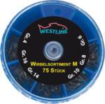 Westline Wirbelsortiment Gr. M 75 Stück
