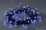 Konstsmide LED Lichterkette, 80 LED blau