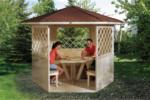 Weka Holzpavillon »Alles dabei«
