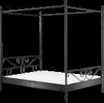 Himmelbett »Manege«, schwarz