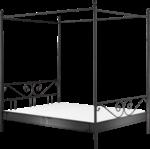 Himmelbett »Manege II«, schwarz