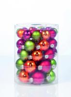 Weihnachtskugel »Fairytale Forest-Mix« 45 und 60mm, aus Glas
