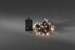 Konstsmide LED Lichterkette »Globe LEDs« warmweiß, Außen