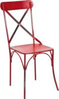 Metallstuhl »BISTRO, 2er Pack, rot