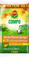 Compo Rasendünger »Herbst«, 5 kg