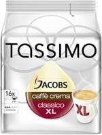 Jacobs Tassimo Caffè Crema Classico XL 132g, 16 Stück