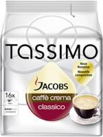 Jacobs Tassimo Caffè Crema Classico 112g, 16 Stück