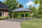 Karibu Pavillon Carport »Kirn 1« Massivholz