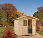 Gartenhaus Blockbohlen »MAIN« 19 mm, 270x243 cm