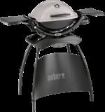 Weber Gasgrill »Q 1200 Stand«, granite grey