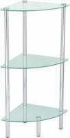 Valblue Badezimmer »Eckregal«, Glas
