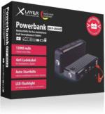 XLayer POWERBANK OFF-ROAD mit Autobatterie-Notstarthilfe, Ladungsmenge bis 12.000 mAh, 1 Stück