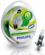Philips EcoVision H1 Glühlampe, 12 V 55 W, 2 Stück