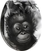 Wenko WC-Sitz »Affe«
