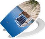 Wenko WC-Sitz mit Absenkautomatik »Strandkorb«
