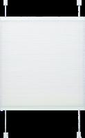 Gardinia Plissee »Easyfix« mit 2 Bedienschienen, 50x130 cm weiss