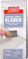 Lugato Natursteinfliesenkleber »Marmor+Granit«, 5 kg
