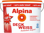 Alpina Alpina Weiss »Deckweiß«, 14 l - Jubiläumsgebinde