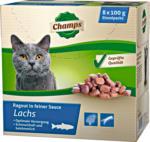 Champs Katzenfutter »Lachs«, 8x100 g