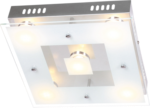 Wofi LED Deckenleuchte »SPHINX« 5flg. 5 Watt, 30x30 cm