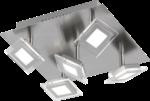 Wofi LED Deckenleuchte »CHOLET« 5flg. 5 Watt, 28x28 cm