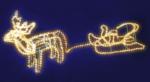 LED Schlauchlicht »Rentier mit Schlitten«