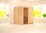 Karibu Sauna »Laurin« 68 mm, ohne Ofen