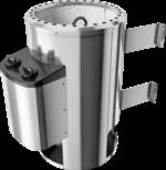 Karibu Saunaofen »Plug&Play« mit eingebauter Steuerung 3,6 kW, silber