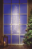 Lichterkette Waterfall-Waterdrop 150 cm, 180 warmweiße Lichter