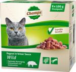 Champs Katzenfutter »Wild«, 8x100 g