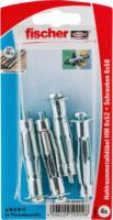 Fischer Hohlraumdübel-Metall »HM 6x52 SK« mit Schraube