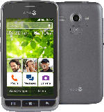 Smartphones - Doro Liberto 820 mini 4 GB Schwarz