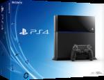 Sony PlayStation 4 PS4 500GB Jet Black