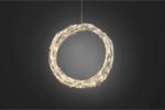 Konstsmide LED Dekoration Lichterkranz oder Lichtergirlande, weiß
