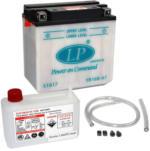 Landport YB16B-A1 Motorrad Batterie mit Säurepaket, 12V, 16AH