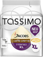 Jacobs Tassimo Caffè Crema Intenso XL 144g, 16 Stück