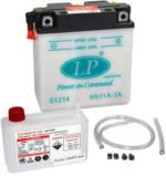 Landport 6N11A-3A Motorrad Batterie mit Säurepaket, 6V, 11Ah